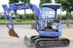 売り切り コマツ 2トンクラス ミニ油圧ショベル ユンボ PC20UU-3 2002年製 3385時間 現状販売
