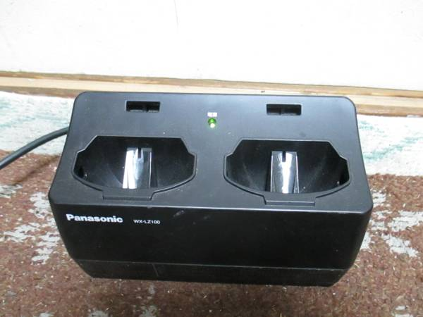 「2RB5」Panasonic/パナソニック 赤外線ワイヤレスマイクロホン充電台★WX-LZ100★ WX-LT100/WX-LT300用_画像1