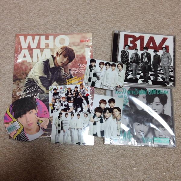 B1A4 びっぽ CD グッズ ライブグッズの画像