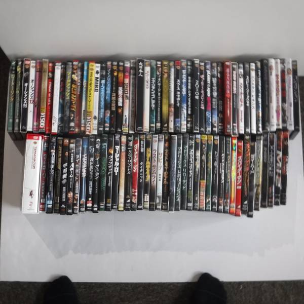 映画DVD大量セットB 85本以上 アクション多し。パイレーツ スパイダーマン ターミネーターなど大作多し。 グッズの画像
