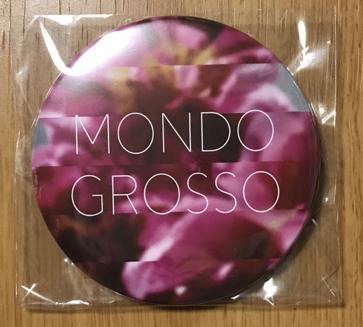◆MONDO GROSSO [何度でも新しく生まれる] 特典 缶バッジ ◆モンド・グロッソ