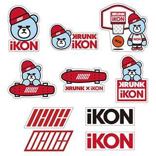 iKON ステッカー 公式グッズ ライブグッズの画像