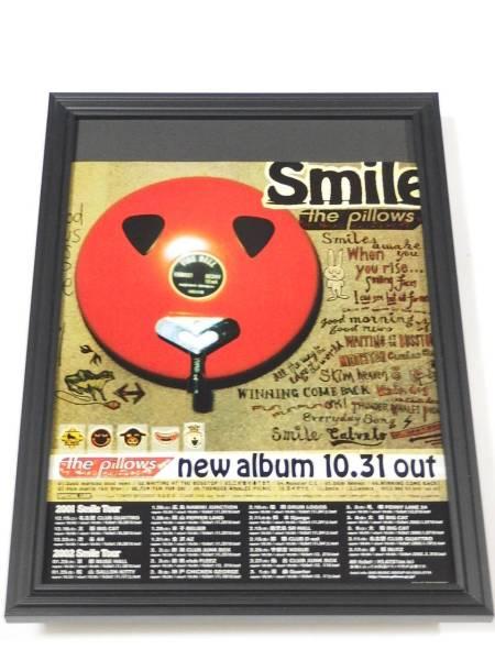 the pillows Smile 額装品 山中さわお CDアルバム広告 額入り 送料164円可 同梱可