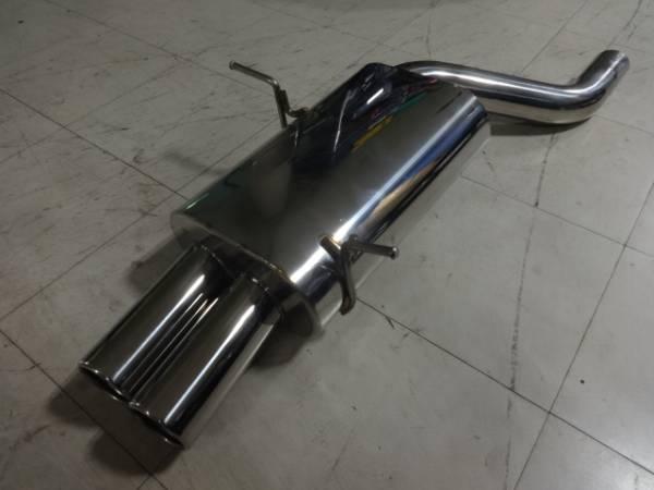 BMW.E46.4気筒用社外マフラー未使用出口真円ダブル売り切り
