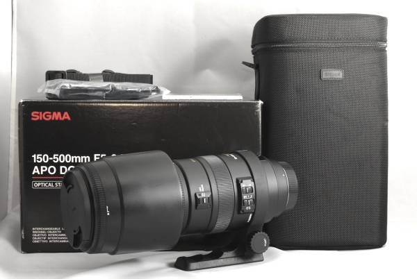★新品同用品★SIGMA 150-500mm F5-6.3 APO DG OS HSM Canon
