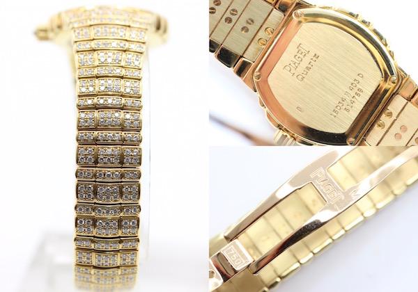 極美品■PIAGET ピアジェ タナグラ 全面ダイヤ 750 イエローゴールド レディース腕時計 クォーツ 定価約1400万円_画像3