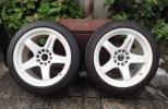 ニスモ LMGT4 GT-Rサイズ 17インチ 9.5JJ+22 美品 ホワイト 2本セット