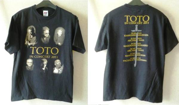 ★SALE★【TOTO】TOTO IN CONCERT 2011 TシャツsizeM