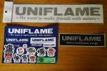 UNIFLAME ユニフレーム ステッカーセット ステッカー 非売品 UFステッカー シルバー