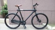 大阪から VANMOOF バンムーフ Noir3.2 キックシフト2段変速 クロスバイク 中古