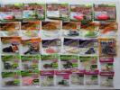 ワーム ☆ 各種 メーカー・ほとんど 開封済み、残った未使用品 ★ まとめて、68袋位あり / ジャンク出品