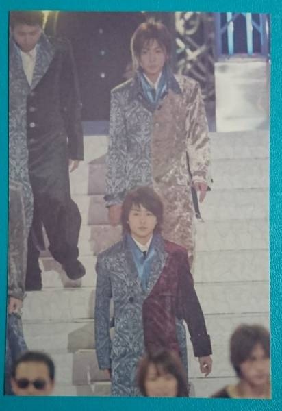 嵐◆櫻井翔 相葉雅紀【2003年12月26日Mステスーパーライブ】貴重な写真〈Konica〉
