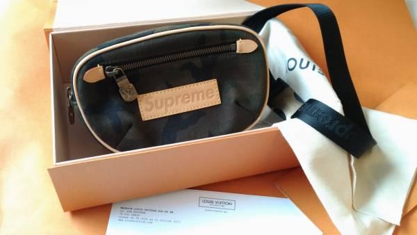 売り切り新品 Supreme × Louis vuitton ウエストポーチ バムバッグ BUMBAG ショルダー
