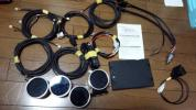 Defi アドバンスBF ホワイト ブースト計&水温計&油温計&油圧計+コントロールユニット