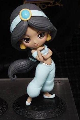 Q posket Disney Characters Jasmine ディズニー アラジン ジャスミン Qposket フィギュア パステルカラー 8月予約 キューポスケット ディズニーグッズの画像