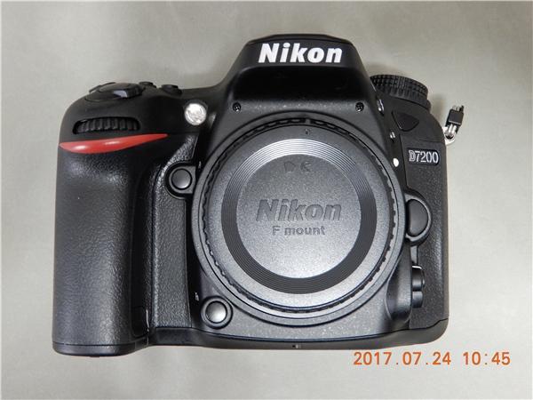 【新同品】Nikon D7200 BODY
