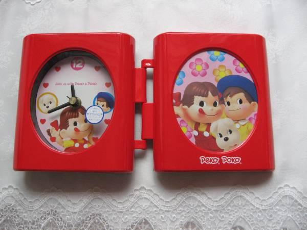 不二家◆ペコちゃん置時計◆日本製・未使用・非売品_画像2