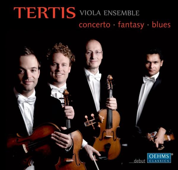 ◎未開封◎ ヴィオラ四重奏のための作品集(テレマン、バルトーク、ピアソラ) ターティス・ヴィオラ・アンサンブル