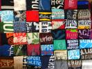 USA古着卸★半袖 プリントTシャツ 大量45枚 セット まとめ売り アメリカンイーグル ホリスター アバクロ ハーレー エアロポステール 卸売り