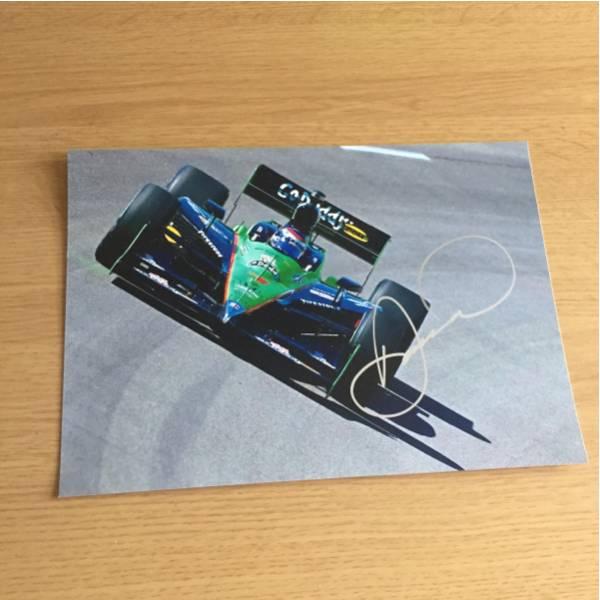 インディ NASCARドライバー ダニカパトリック直筆サイン入りA4写真