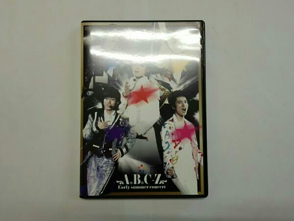 A.B.C-Z Early summer concert(初回限定版) コンサートグッズの画像