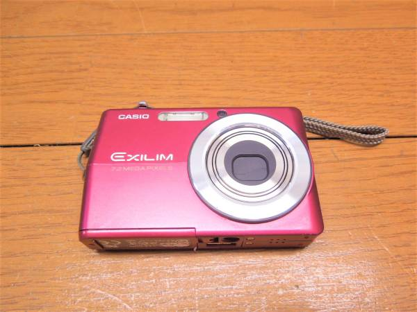 I7981 CASIOカシオ EX-Z700 EXILIM 赤RED動作品