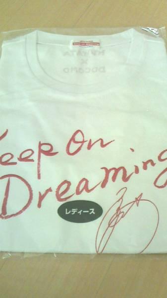 KUWATA × DOCOMO Keep on Dreaming 2012 SUMMER Tシャツ 非売品 白 レディース 桑田佳祐 サザンオールスターズ レア  サイン入り