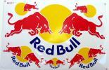 ★Red Bull レッドブル ステッカー コンプリートセット★青黄色 大26.5×17.5cm