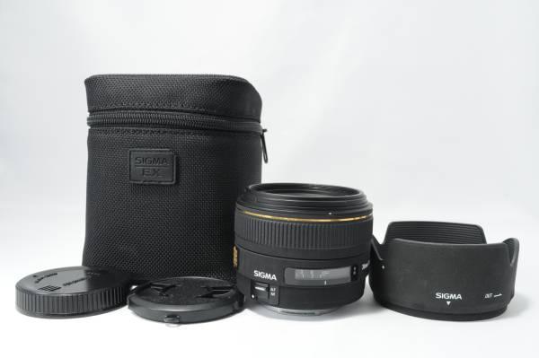 ★美品★SIGMA シグマ 30mm F1.4 EX DC HSM キャノン Canon用