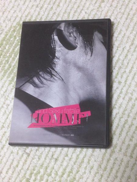 東方神起 ユノ ユンホ 韓国ファンサイト制作DVD Homme