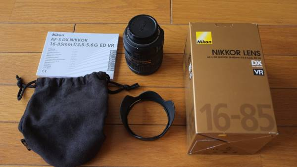 AF-S DX NIKKOR 16-85mm f/3.5-5.6G ED VR 中古