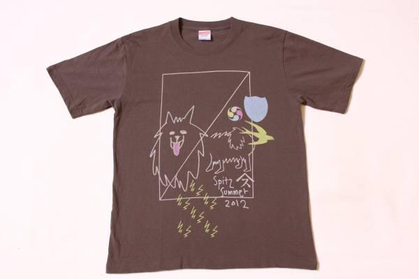 ★スピッツ★Spitz SUMMER 2012★グレー/サイズM★Jポップ ロックバンドTシャツ 草野マサムネ