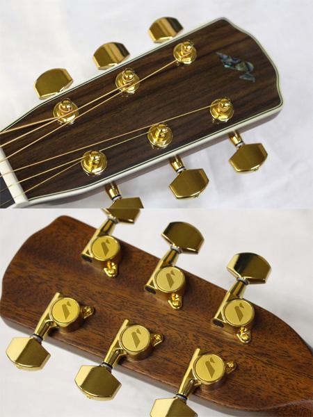 Morris(モーリス) F-91 アコースティックギター オール単板 生産完了品 日本製 保証書・ソフトケース付 送料無料(1部地域を除きます。)_画像3