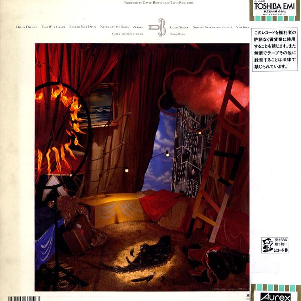 [LP]DAVID BOWIE/デビッドボウイ/NEVER LET ME DOWN/ポスター付き/EYS-91221_画像2