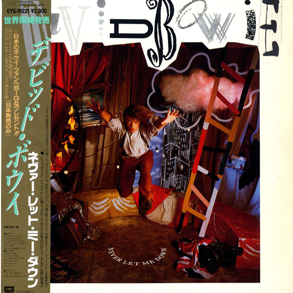 [LP]DAVID BOWIE/デビッドボウイ/NEVER LET ME DOWN/ポスター付き/EYS-91221