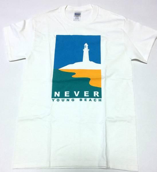 【新品未着用】 NEVER YOUNG BEACH ネバヤン グッズ / 灯台 Tシャツ 白 S サイズ