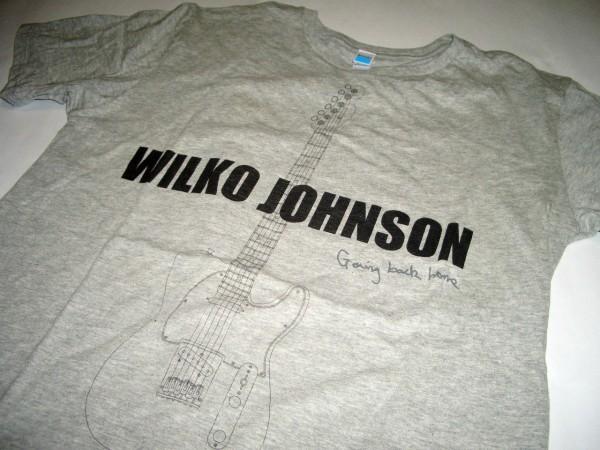 ウィルコ・ジョンソン/Wilko Johnson Going back home ツアーTシャツ Sサイズ 中古 ギター