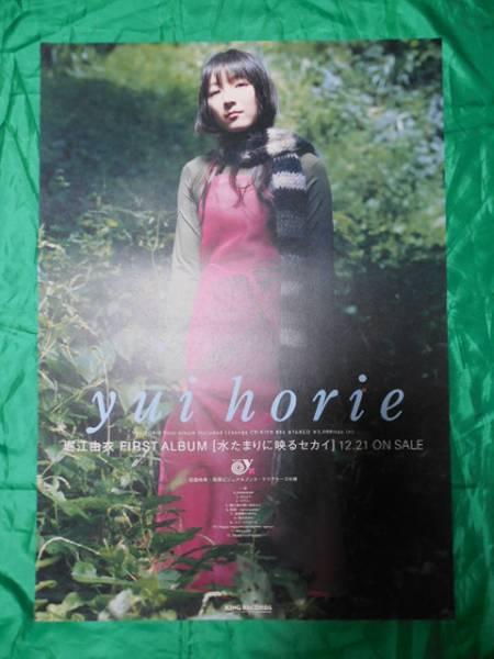 堀江由衣 水たまりに映るセカイ B2サイズポスター