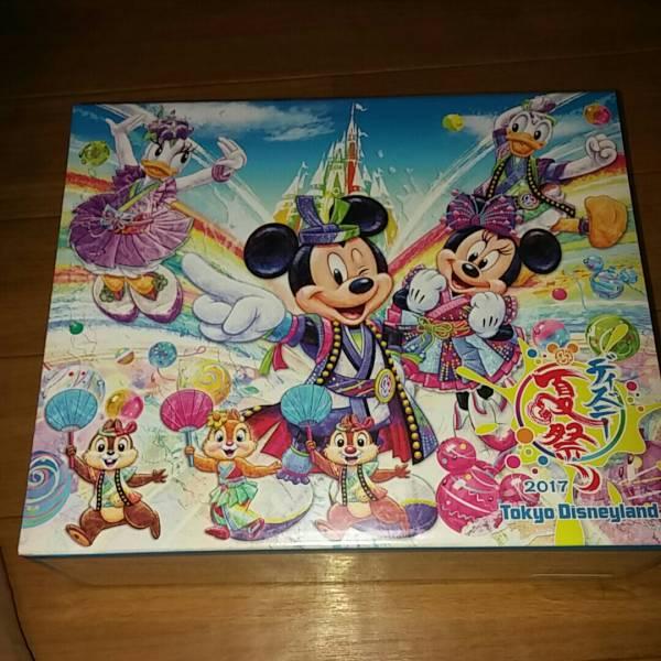 ディズニー夏祭り2017箱入りおせんべいミッキーミニーチップとデール ディズニーグッズの画像