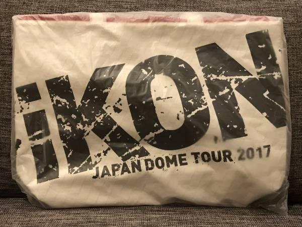iKON トートバッグ ドームツアー JAPAN DOME TOUR 2017 ライブグッズの画像