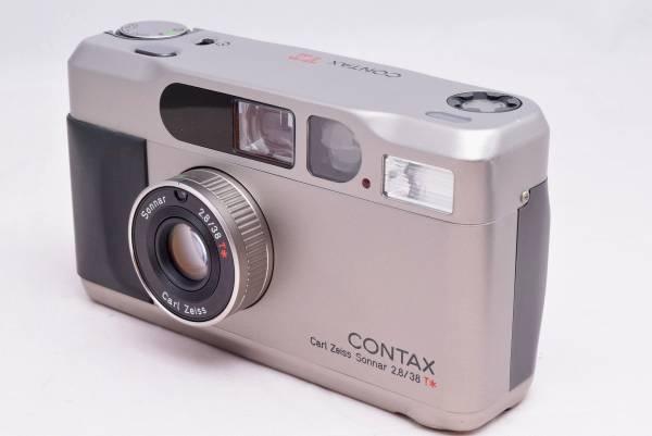 ★極上品★希少 コンタックス CONTAX T2 チタンクローム 完全動作品 保証