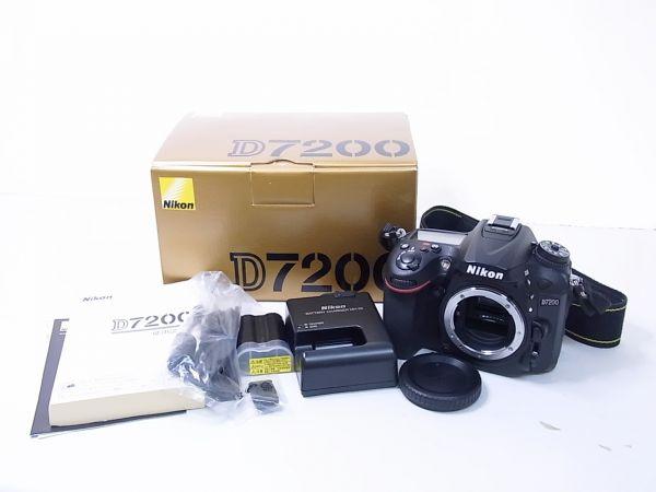 ▲▽ニコン/Nikon デジタル一眼レフカメラ D7200 ボディ△▼