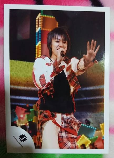 Hey!Say!JUMP  伊野尾慧 Jロゴ 公式写真 コンサートグッズの画像