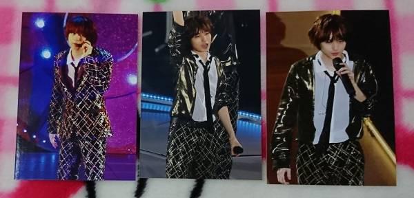 Hey!Say!JUMP 伊野尾慧 生写真  大阪ドーム Countdown Concert 2015-2016 3枚 コンサートグッズの画像