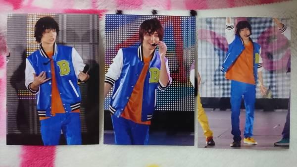 Hey!Say!JUMP 伊野尾慧 生写真 3枚 スタジャン コンサートグッズの画像