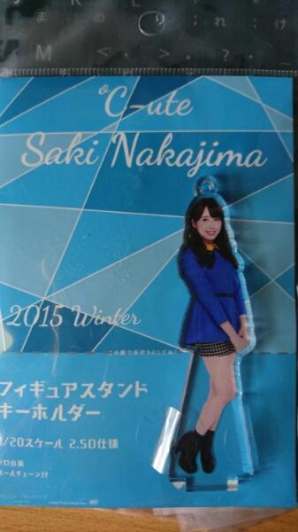 ℃-ute中島早貴フィギュアスタンドキーホルダー ライブグッズの画像