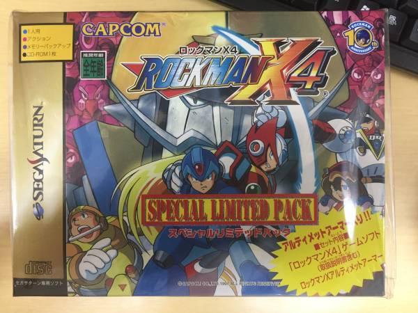 SS「ロックマン X4 スペシャルリミテッドパック(国内版)」<新品>