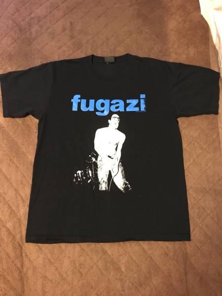 極美品 FUGAZI フガジ Tシャツ MINOR THREAT マイナースレッド supreme black flag ヘンリーロリンズ