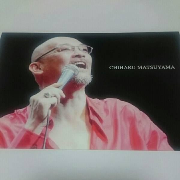 松山千春 ポストカード コンサートグッズの画像