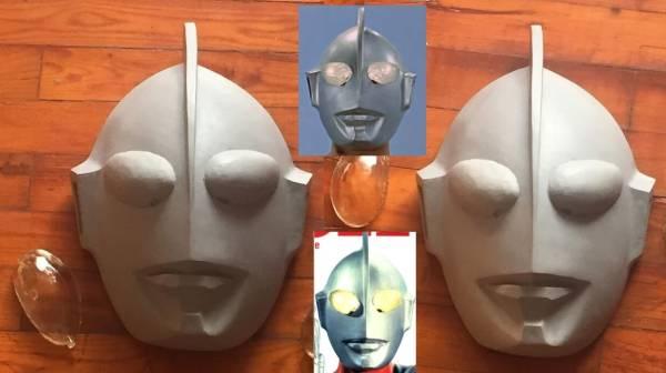 ウルトラマン Cタイプ  1/1 当時撮影用 レプリカマスク グッズの画像